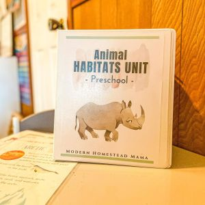 Animal Habitats Preschool Unit