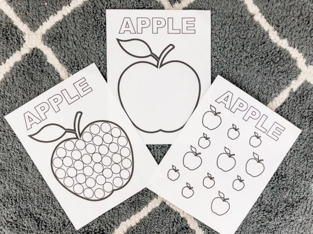 Apple Prinables