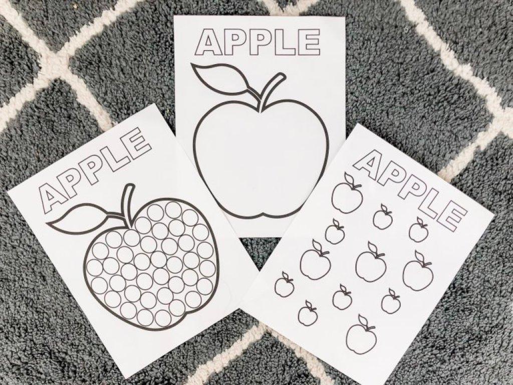 Apple Prinables