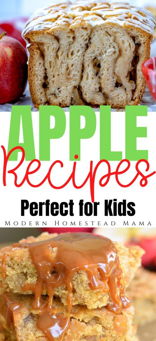 Apple Recipes for Kids | Modern Homestead Mama