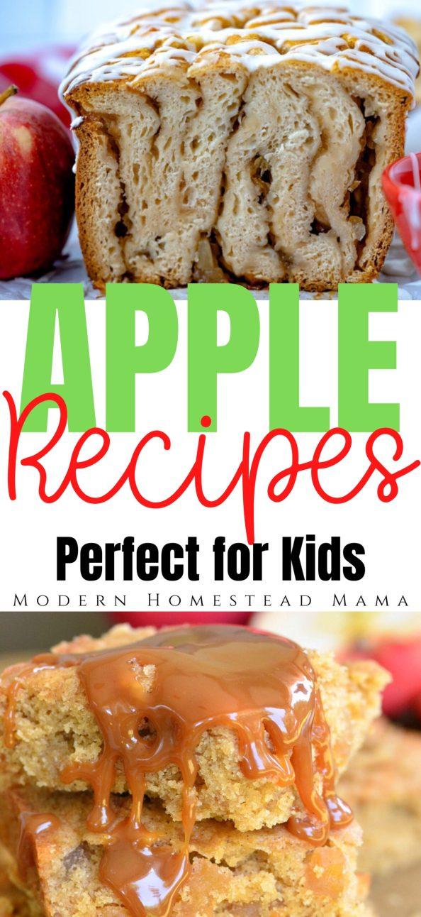 Apple Recipes for Kids | Modern Homestead Mama
