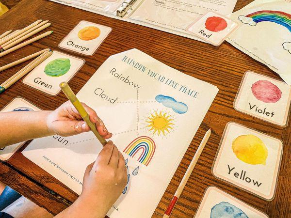 Rainbow Preschool Unit