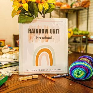 Rainbow Preschool Unit | Modern Homestead Mama