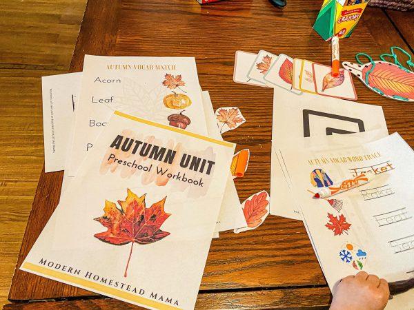 Autumn Preschool Unit