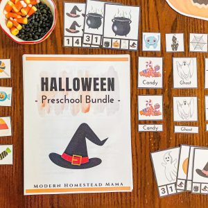 Halloween Preschool Bundle