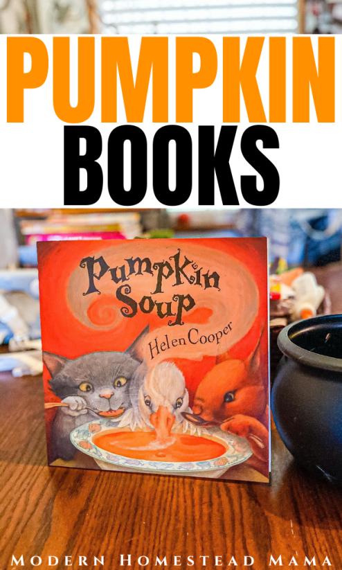 Pumpkin Books for Preschoolers | Modern Homestead Mama
