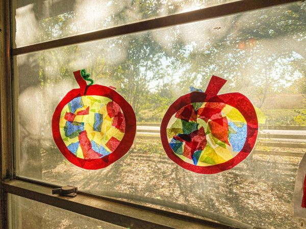 Pumpkin Suncatchers Craft