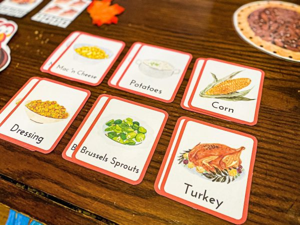 Thanksgiving Food Memory Game
