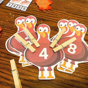 Turkey Count & Clip