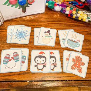 Winter Matching Toddler Game