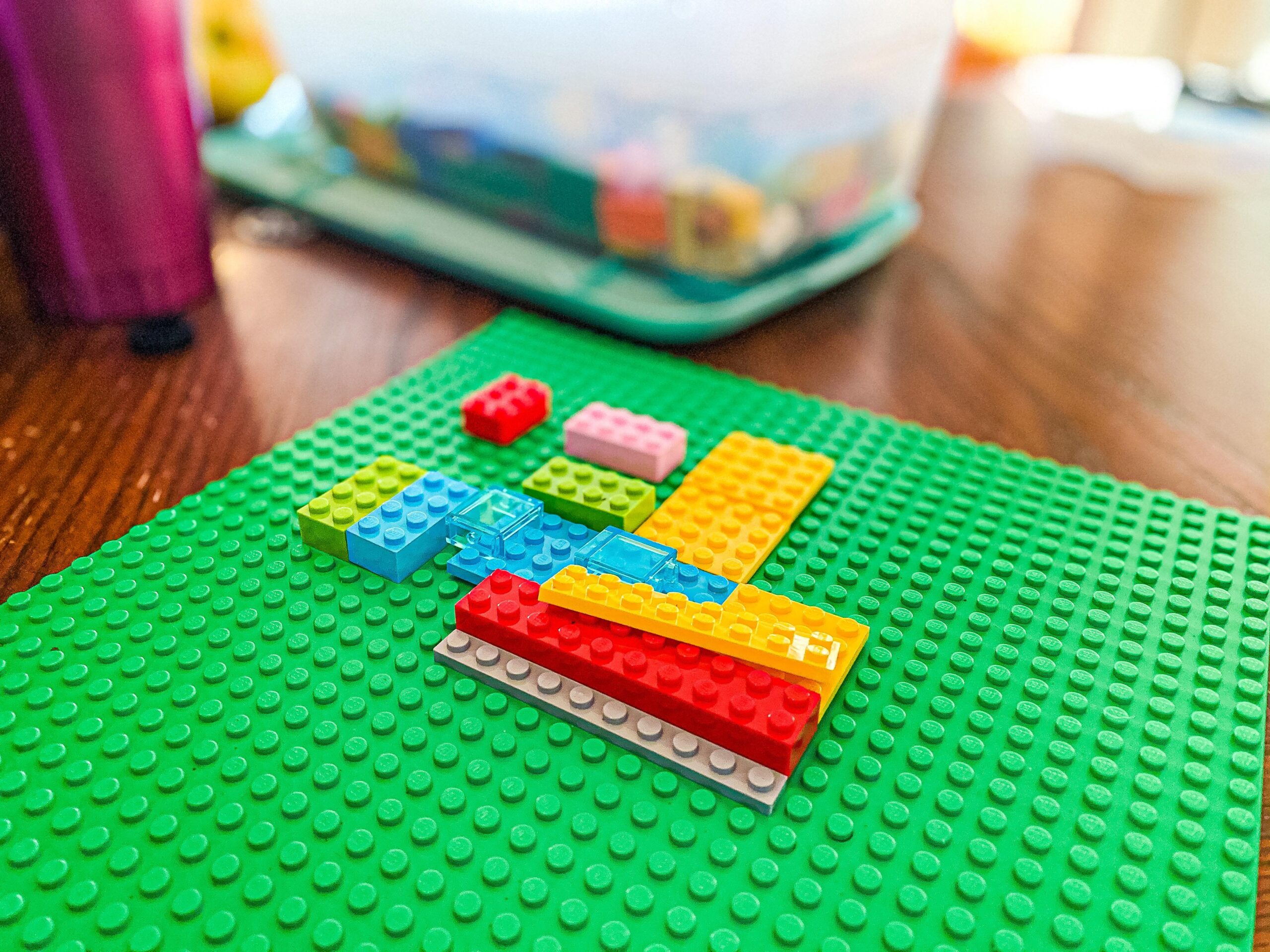 Build Your Home Lego Activity for Pre-k All About Me Theme