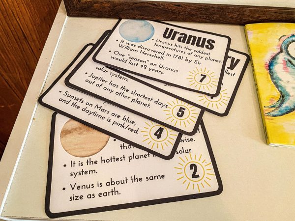 Planet Fact Flashcards