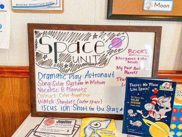 Space Preschool Unit