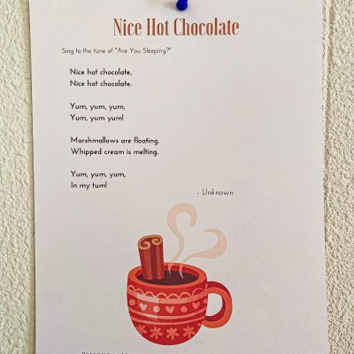 Nice Hot Chocolate Song for Preschoolers