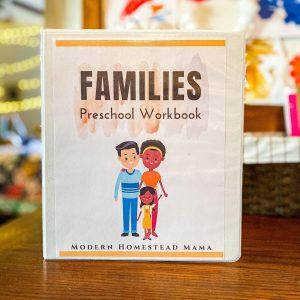 Families Pre-K Workbook