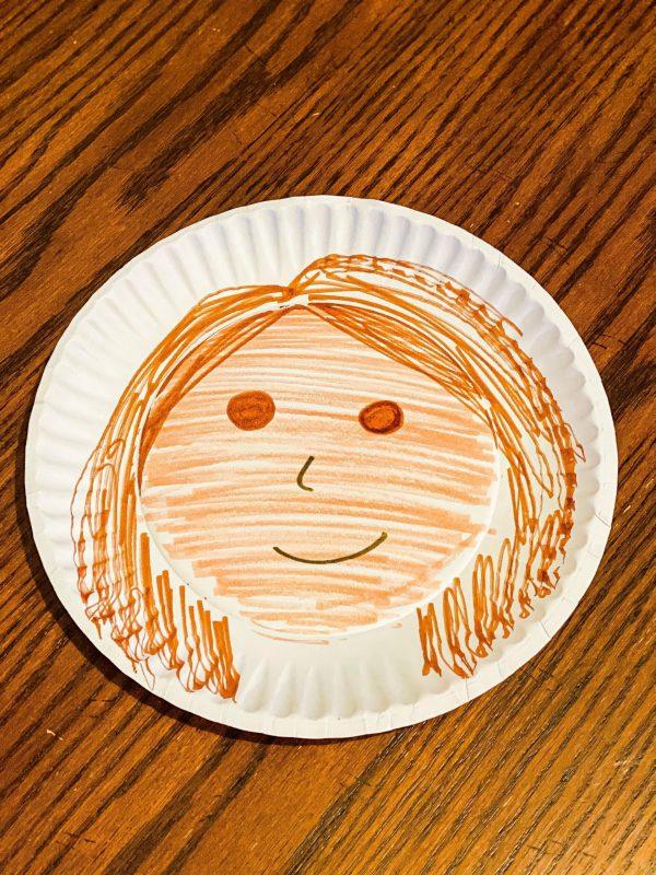 Paper Plate Family Members