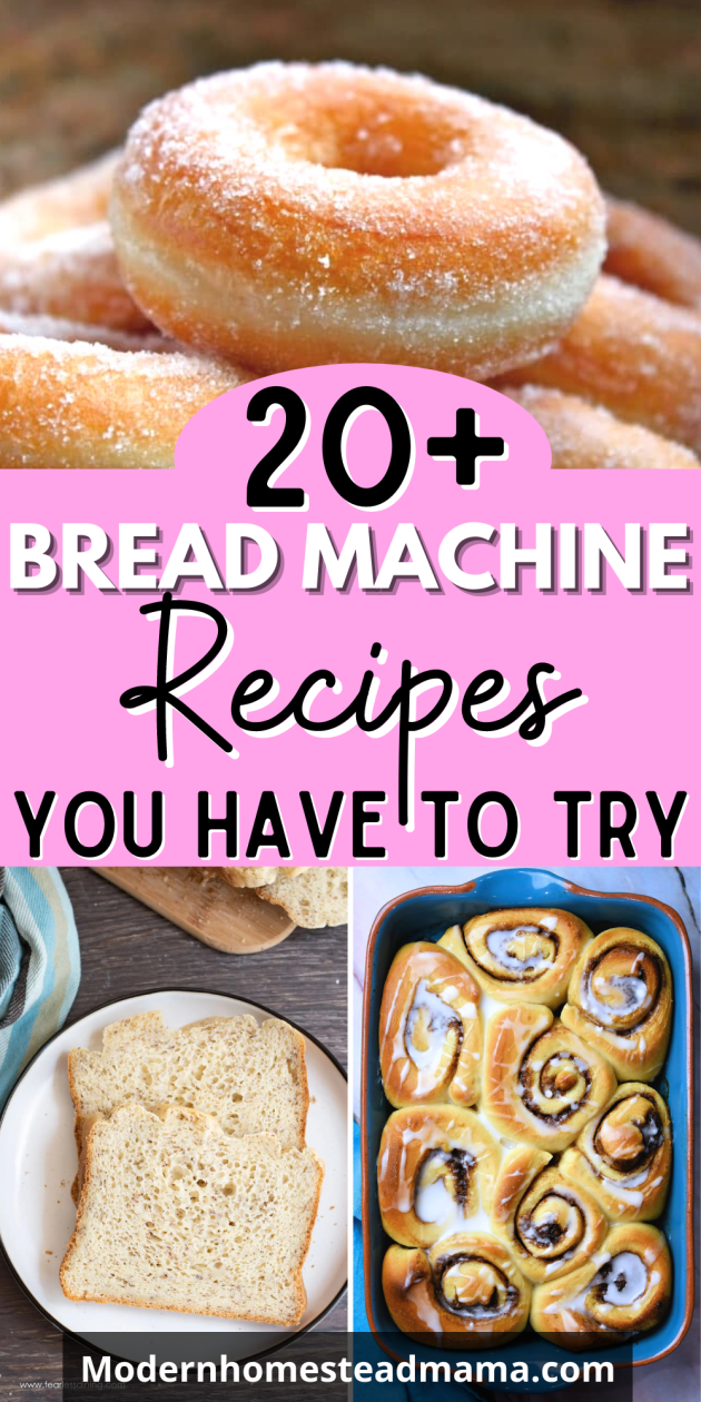 23 Bread Machine Recipes You Have to Try | Modern Homestead Mama