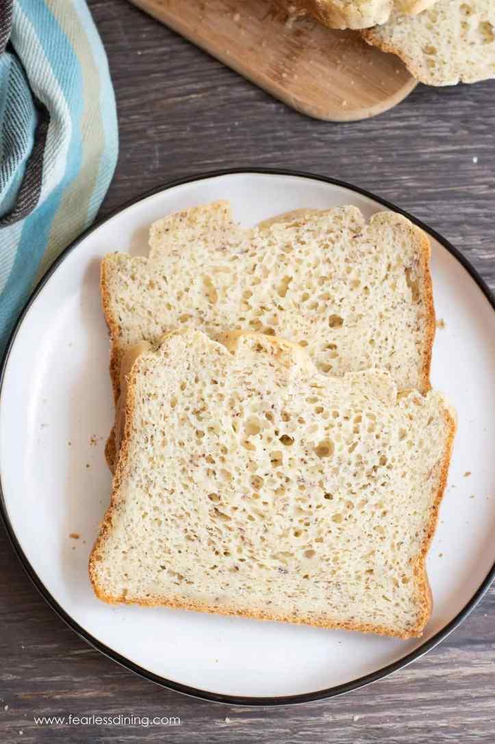 Gluten-Free Dairy-Free Bread Machine Bread