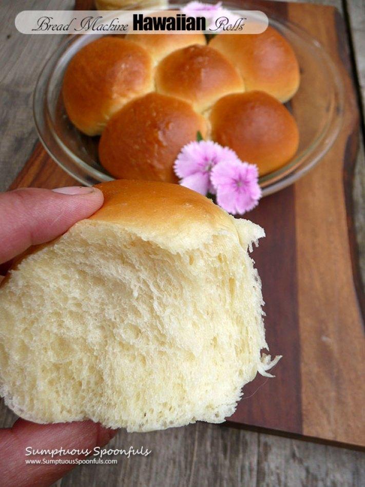 Hawaiin Rolls Bread Machine