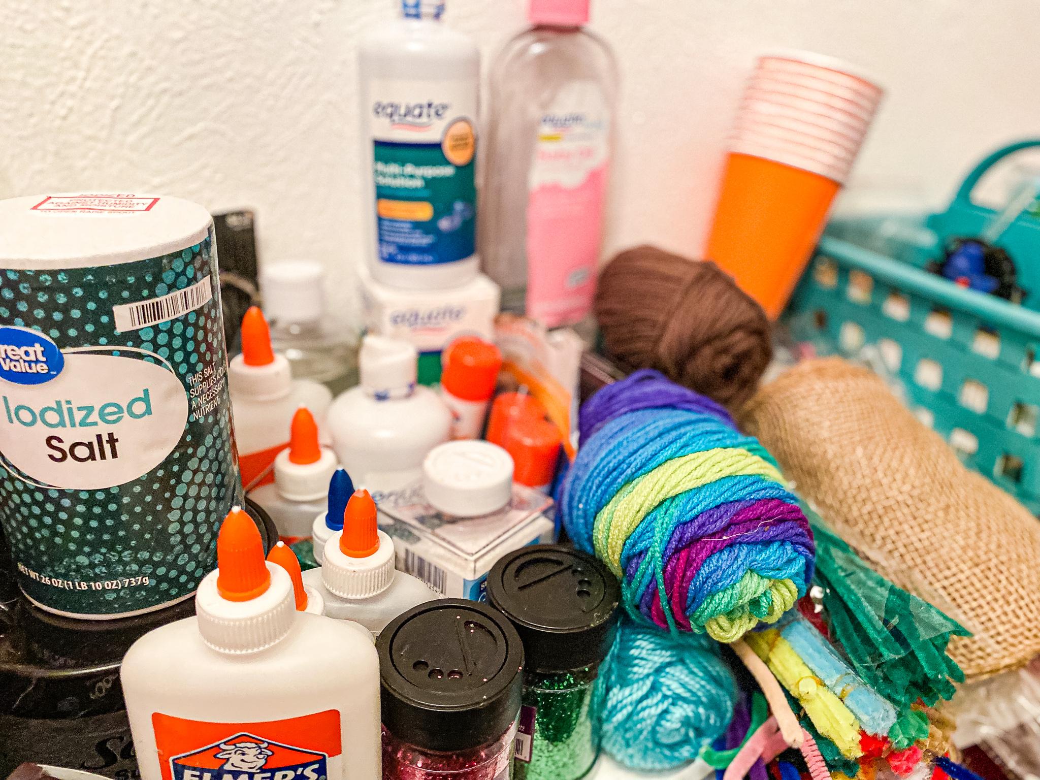 Homeschool Closet Materials