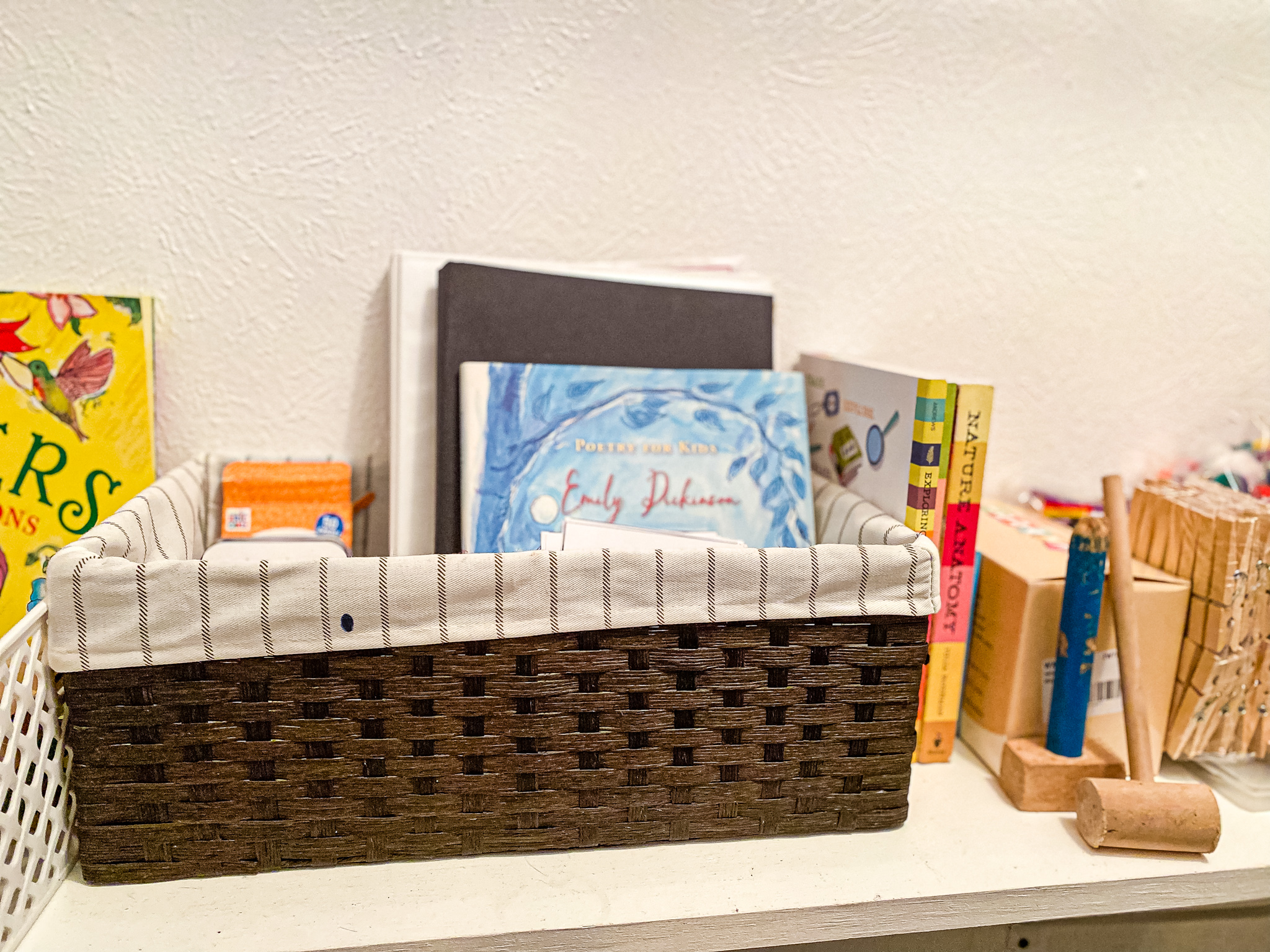 Homeschool Morning Basket for the Early Years