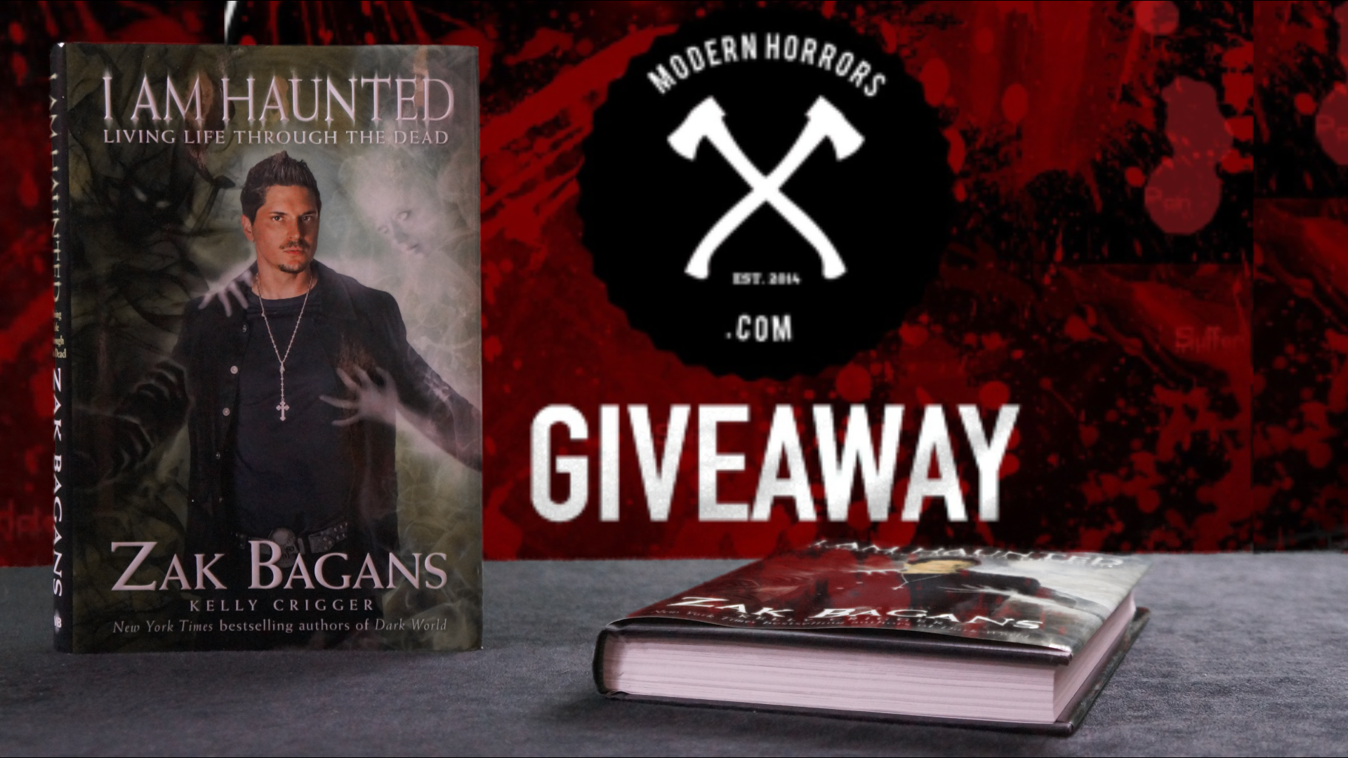 I Am Haunted Giveaway Modern Horrors