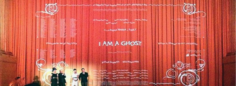 Opening night of I Am a Ghost at The Castro Theater, San Francisco