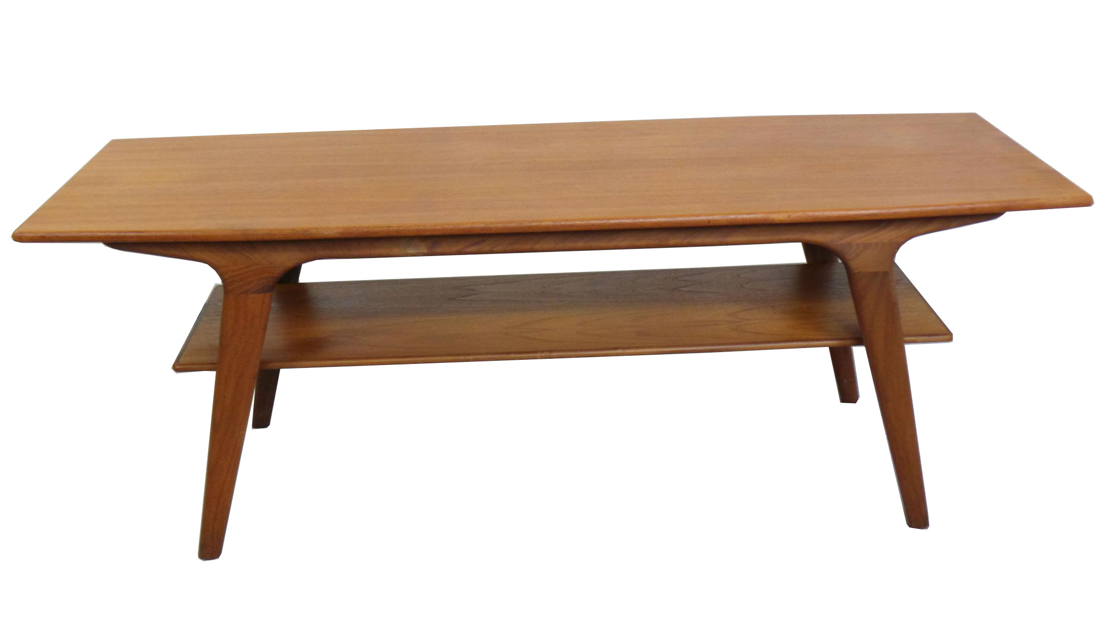 1950 S Danish Modern Teak Coffee Table Modernism
