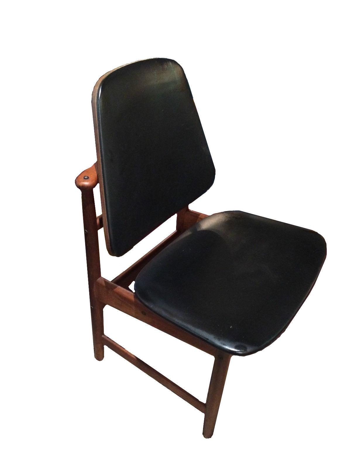 Arne Hovmand Olsen Danish Modern Dining Chairs Modernism