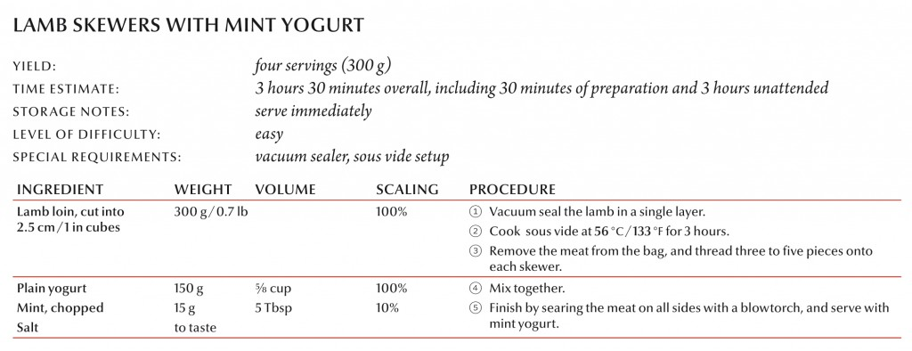 Lamb Skewers with Mint Yogurt Recipe