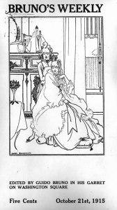 Audred Beardsley, cover design. 1:14 (21 Oct. 1915).