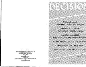 Title page, 2:1 (July 1941).