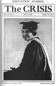 """A Master of Arts, University of California."" 28:3 (July 1924): cover."