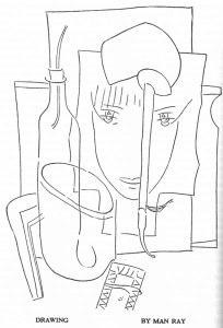 Man Ray, Drawing. 11:1 (Spring 1925): 40.