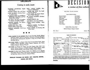 Title page, 1:1 (Jan. 1941).