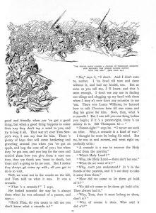 """Twain, Mark. """"Tom Sawyer Abroad."""" St. Nicholas. 21:1 (Nov. 1893): 23."""