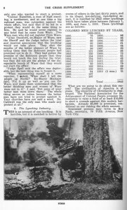 """""""The Waco Horror."""" 12:3 (July 1916): supplement 8."""