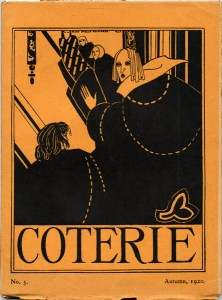 Mary Stella Edwards, cover design, No. 5 (Sept. 1920).
