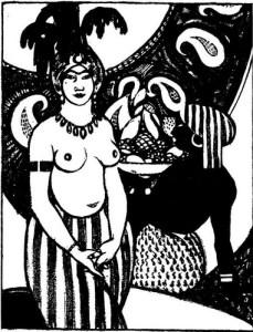 Anne Estelle Rice, Schéhérazade.1:1 (Summer 1911): 15.