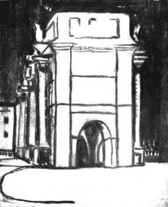 Georges Banks, Arc de Triomphe. 2:5 (June 1912): 11.