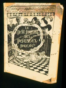 Burgess, Gelett. Le Petit Journal des Refusees (cover image). 1896. Princeton University Library. Modernist Journals Project . Web. 21 Sept. 2010.