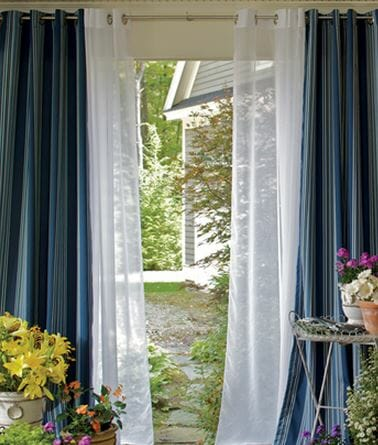 Add Chic Style With Sheer Curtains Modernize