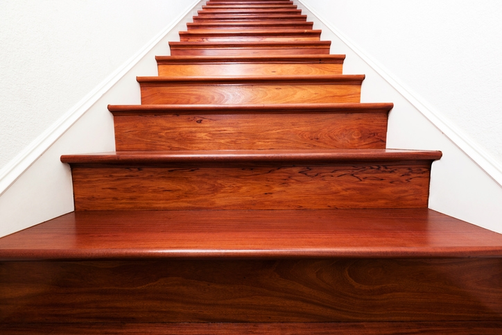 4 Easy Diy Ways To Finish Your Basement Stairs Modernize | Staircase Contractor Near Me | Basement Stairs | Stair Case | Stair Parts | Yelp | Stamped Concrete