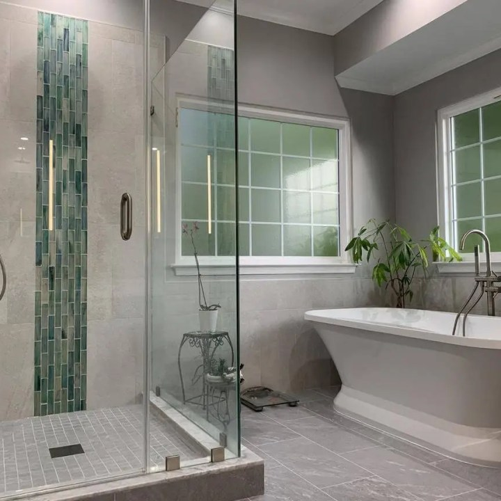 High quality bathroom design