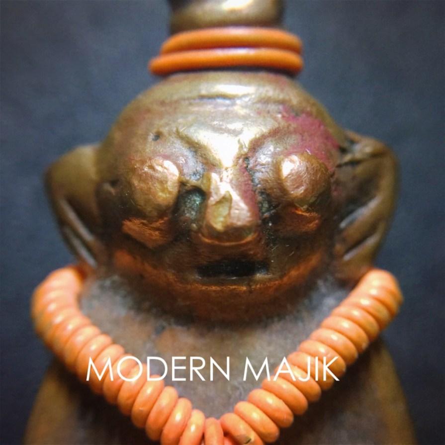 """พระงั่งเขมรตาโปนอุดกริ่งเนื้อทองแดงเถื่อน """"ทองแดง"""" by MODERN MAJIK"""