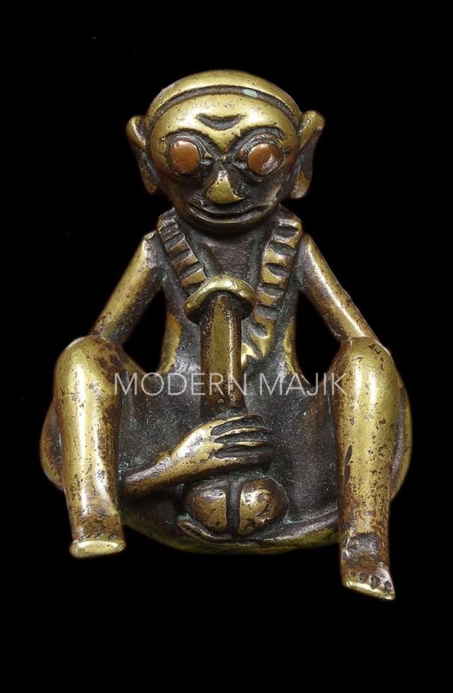 COLONEL งั่งโบราณเนื้อทองผสม ตาทองแดง กำจู๋ MODERN MAJIK