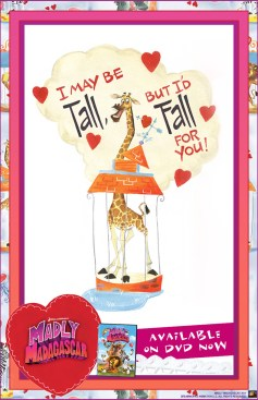Madagascar Valentine's Day Card