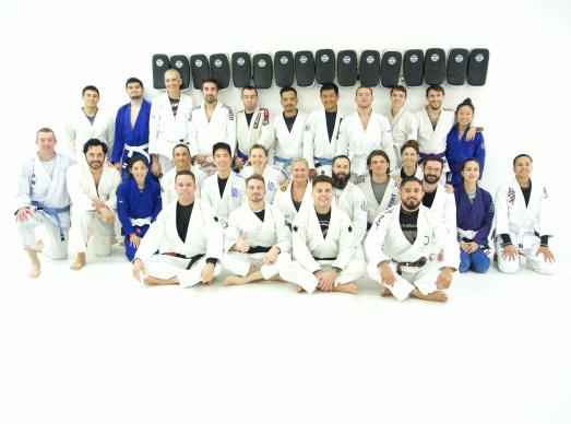 Full class at Modern Martial Arts and Fitness Brazilian Jiu-Jitsu Seminar in Pasadena, Ca