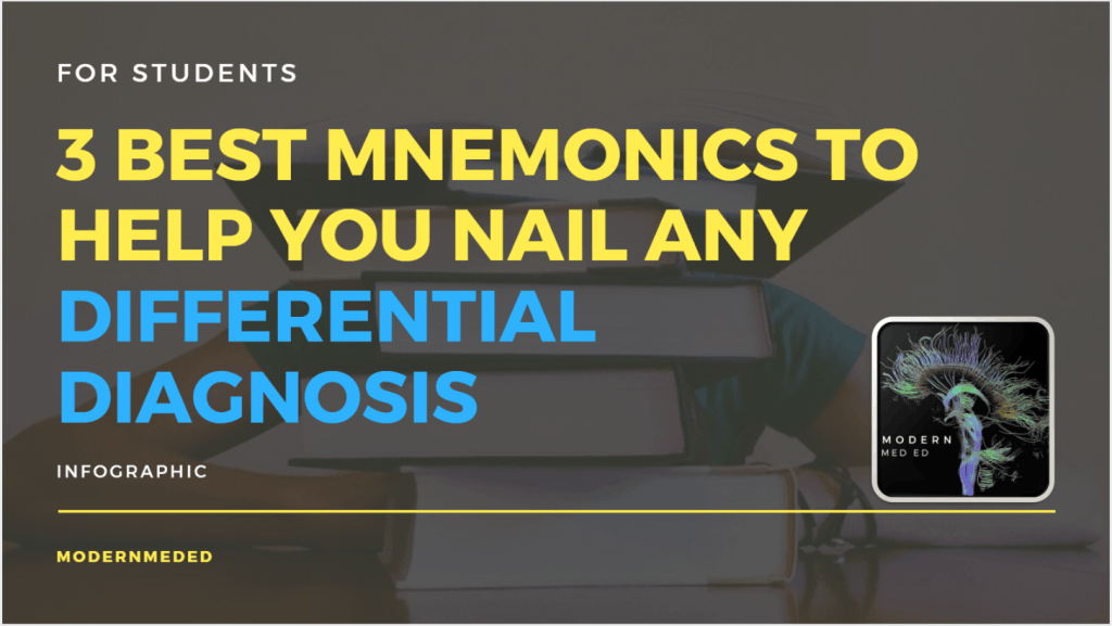 3 Best Mnemonics to Effortlessly Nail Any Differential