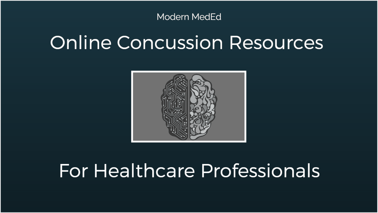 Online Concussion Resources